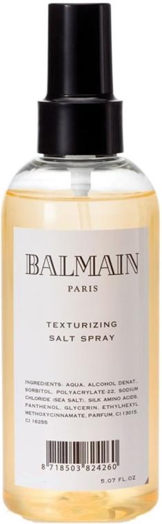Teksturujący sól w sprayu do włosów - Balmain Paris Hair Couture Texturizing Salt Spray — фото N1