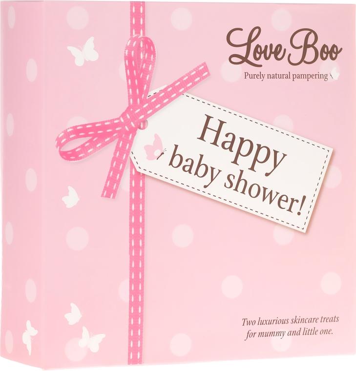 Zestaw żeli pod prysznic dla mamy i dziecka - Love Boo Happy Baby Shower (2 x sh/gel 250 ml) — фото N1