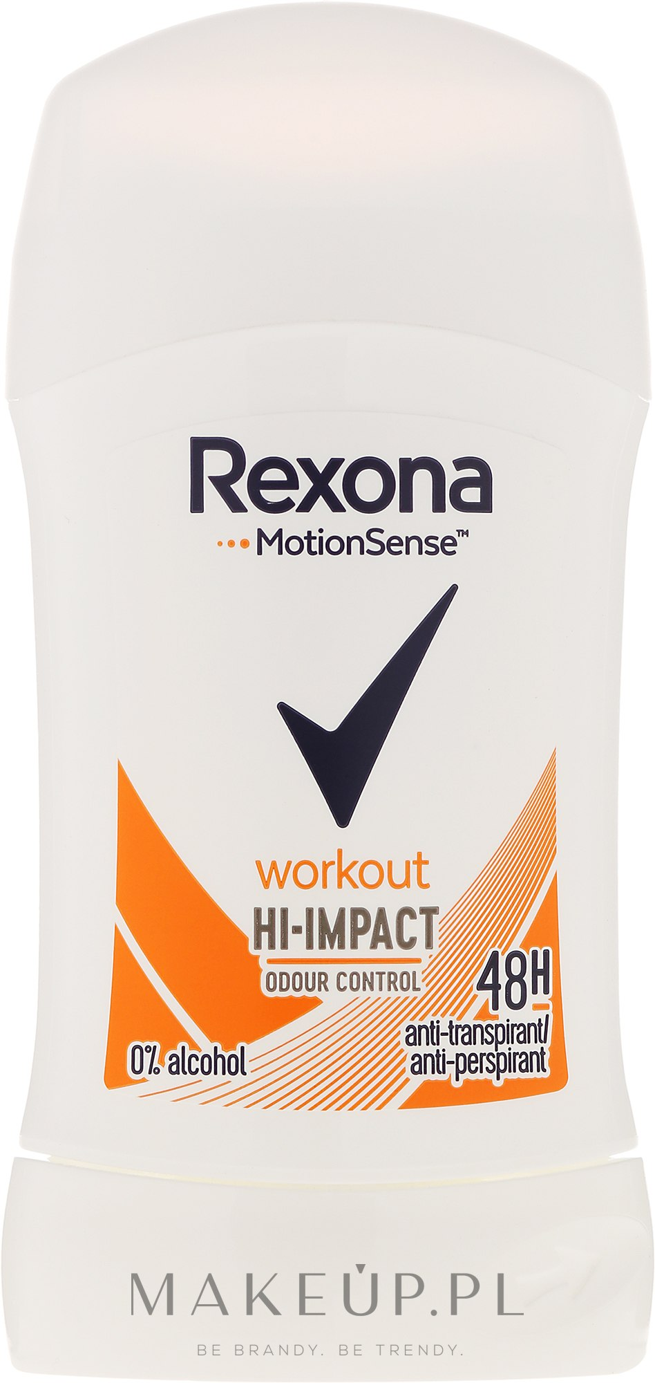 Antyperspirant w sztyfcie - Rexona Motionsense Workout Hi-impact 48h Anti-perspirant — фото 40 ml