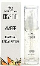 Kup PRZECENA! Bursztynowe serum esencjonalne do twarzy - SM Collection Crystal Amber Facial Serum *