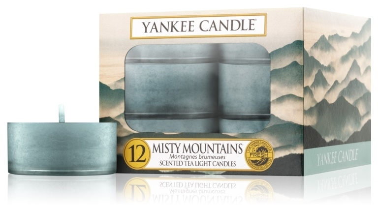 Podgrzewacze zapachowe tealight - Yankee Candle Misty Mountains — фото N1