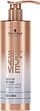 Kup Szampon bez sulfatów do włosów blond Srebrny - Schwarzkopf Professional Blond Me Blush Wash Silver