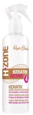 Keratynowy spray do włosów - H.Zone Keratine Active Kerafix Spray — фото N1