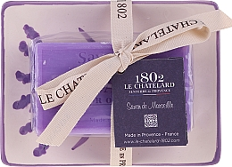 Kup Mydło naturalne z ceramiczną mydelniczką - Le Chatelard 1802 Lavande Soap