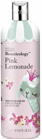 Krem pod prysznic Różowa lemoniada - Baylis & Harding Pink lemonade Shower Creem — фото N1