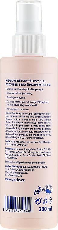 Odżywczy bioolejek do ciała dla dzieci od 1. dnia życia - Oncl'e Baby Oil — фото N2