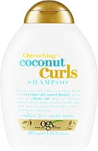 Kup Szampon z olejem kokosowym do włosów kręconych - OGX Quenching + Coconut Curls Shampoo