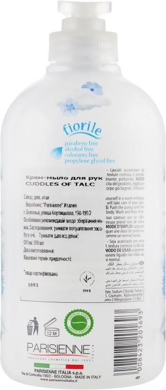 Mydło w płynie - Parisienne Italia Fiorile Cuddles Of Talc Liquid Soap — фото N2