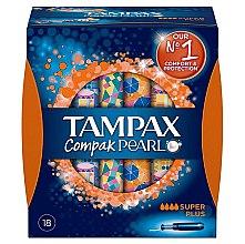 Kup Tampony z aplikatorem, 18 szt. - Tampax Pearl Compak Super Plus