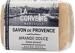 Kup Mydło w kostce Słodki migdał - La Corvette Provence Sweet Almond