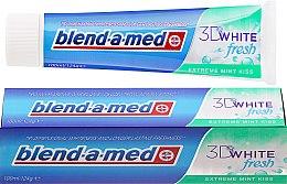 Kup Pasta do zębów Miętowy pocałunek - Blend-a-med 3D White Fresh Extreme Mint Kiss Toothpaste