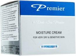 Kup Nawilżający krem do skóry suchej i wrażliwej - Premier Dead Sea Moisture Cream Very Dry & Sensitive Skin