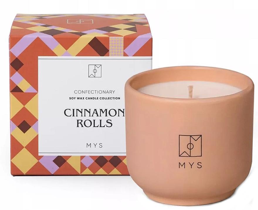 Sojowa świeca Cynamonowe bułki - Mys Cinnamon Rolls Candle — фото N1