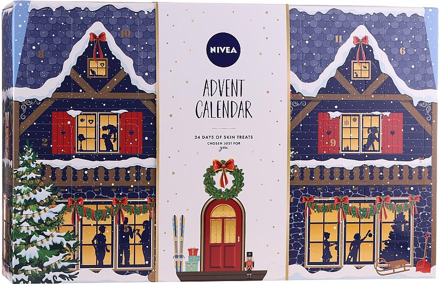 Kalendarz adwentowy - Nivea Advent Calendar 2020 24 Days Of Skin Treats — фото N1