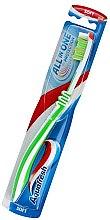 Kup Miękka szczoteczka do zębów, biało-zielona - Aquafresh All In One Protection