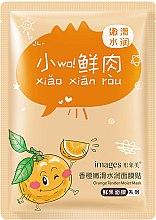 Kup Nawilżająca maska pomarańczowa na tkaninie - Images Orange Tender Moist Mask