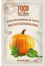 Kup Kremowa maseczka przeciwstarzeniowa do twarzy Dynia - Marion Food for Skin Cream Mask Anti-age Pumpkin