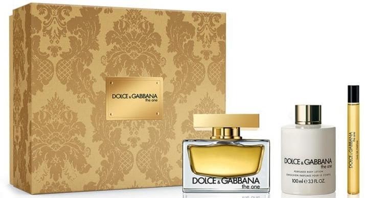 Dolce & Gabbana The One - Zestaw (edp/75ml + b/lot/100ml + edp/10ml) — фото N1
