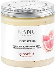 Kup Peeling do ciała Grejpfrut - Kanu Nature Grapefruit With Cranberry Body Scrub