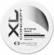 Kup Matowy wosk do stylizacji włosów Jabłko i słonecznik - Grazette XL Concept Stone Wax