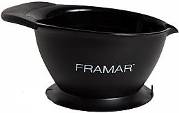 Kup Miska do mieszania farb do włosów z przyssawką - Framar SureGrip Suction Bowl Black