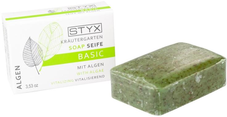 Oczyszczające mydło w kostce Algi morskie - Styx Naturcosmetic Basic Soap With Algae — фото N1