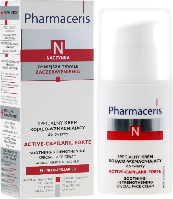 Specjalny krem kojąco-wzmacniający do twarzy - Pharmaceris N Active-Capilaril Forte Cream