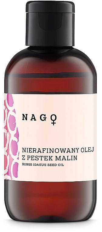 Nierafinowany olej z pestek malin - Fitomed Rubus Idaeus Seed Oil — фото N1