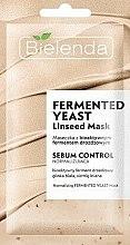 Kup Normalizująca maska do twarzy z z bioaktywnym fermentem drożdżowym - Bielenda Fermented Yeast Linseed Mask