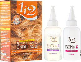 Kup PRZECENA! Miodowy płyn do trwałej ondulacji do włosów normalnych i odpornych na skręt - Celia 1 i 2 *