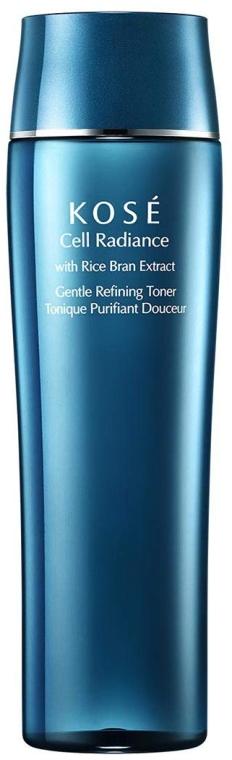 Delikatny tonik oczyszczający do twarzy - Kose Cell Radiance Gentle Refining Toner — фото N1