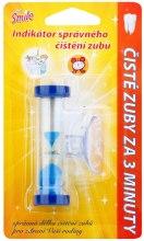 Kup Timer do odmierzania czasu mycia zębów, niebieski - VitalCare White Pearl Smile Indicator Proper Toothbrushing