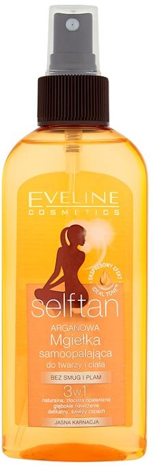 Mgiełka samoopalająca do twarzy i ciała 3 w 1 - Eveline Cosmetics Self Tan — фото N1