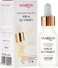 PREZENT! Serum do twarzy, szyi i dekoltu Hialuronowe nawilżenie - Marion Golden Skin Care — фото N1