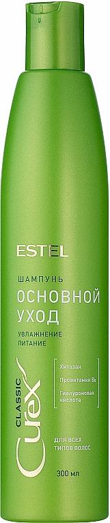 Szampon Nawilżenie i odżywienie do wszystkich rodzajów włosów - Estel Professional Curex Classic