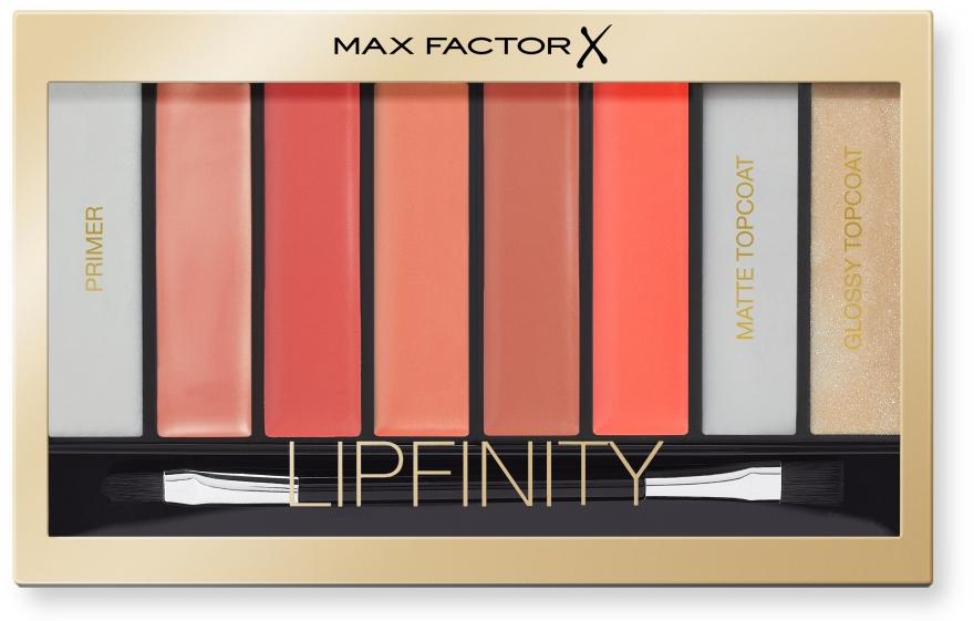 Paletka do makijażu ust - Max Factor Lipfinity Palette