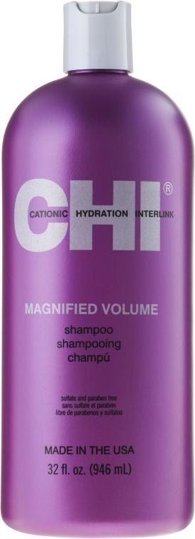 Szampon zwiększający objętość włosów - CHI Magnified Volume Shampoo