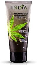 Kup Krem do stóp z olejem z konopi - India Foot Cream With Cannabis