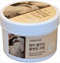 Kup Krem oczyszczający z brązowego ryżu - Lebelage Brown Rice Cleaning Cleansing Cream