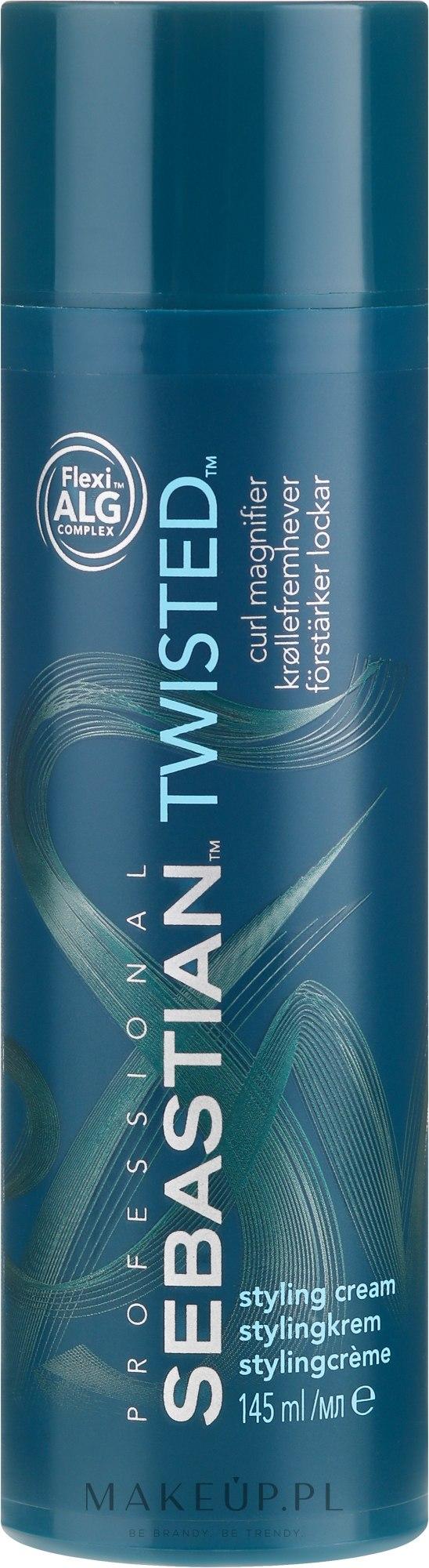Nabłyszczający krem podkreślający skręt loków - Sebastian Professional Twisted Cream — фото 145 ml