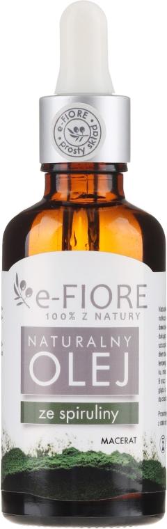 Naturalny olej ze spiruliny - E-Fiore — фото N1