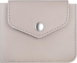"""Kup Szarobrązowy portfel w pudełku prezentowym """"Classy"""" - Makeup Bi-Fold Wallet Taupe"""