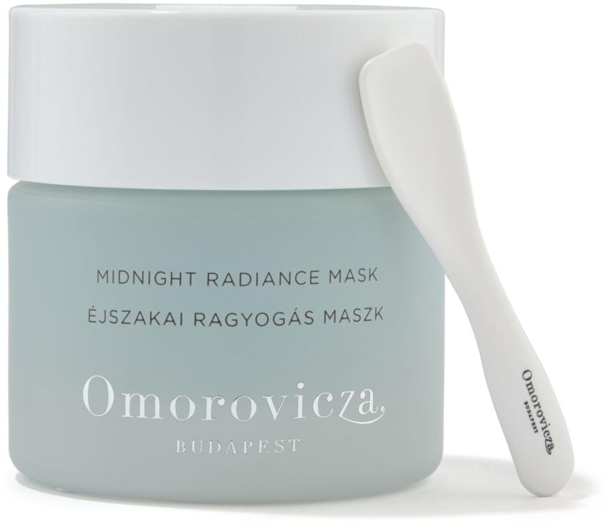 Maska do twarzy na noc - Omorovicza Midnight Radiance Mask — фото N2