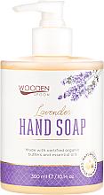 Kup PRZECENA! Mydło w płynie do rąk Lawenda - Wooden Spoon Lavender Hand Soap *