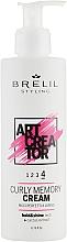 Kup Odżywczy krem do włosów kręconych - Brelil Art Creator Curly Memory Cream
