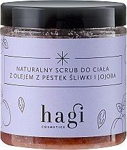 Kup Naturalny scrub z olejem z pestek śliwki i olejem jojoba - Hagi Piąty żywioł