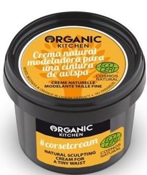 Naturalny krem do ciała modelujący talię - Organic Shop Organic Kitchen #corsetcream