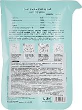 Peelingujące gąbki do ciała z witaminą C - Wish Formula C450 Bubble Peeling Pad — фото N2