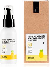 Kup Ochronny krem przeciwsłoneczny do twarzy SPF 50 - Freshly Cosmetics Healthy Protection Facial Sun Cream