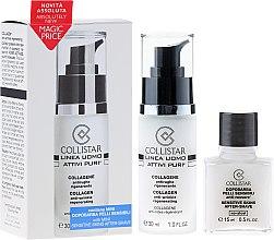 Kup Zestaw - Collistar Linea Uomo Attivi Puri Collageno Anti-Arrugas Regenerante